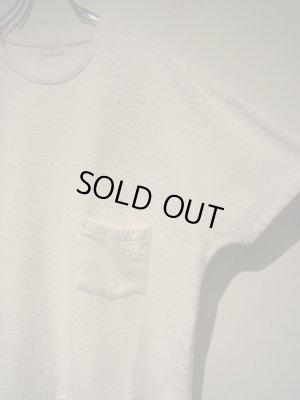 画像3: URU(ウル) ラッチパイルTシャツ ホワイト