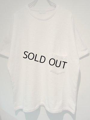 画像1: URU(ウル) ラッチパイルTシャツ ホワイト