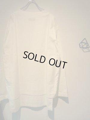 画像5: UNUSED(アンユーズド) レイヤードシャツ ホワイト