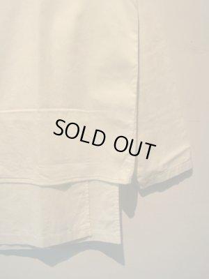 画像3: UNUSED(アンユーズド) レイヤードシャツ ホワイト