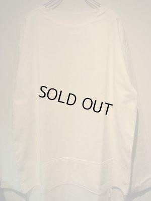 画像1: UNUSED(アンユーズド) レイヤードシャツ ホワイト