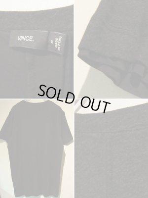 画像3: Vince(ヴィンス) リバーシブルTシャツ 杢ブラック×ブラック