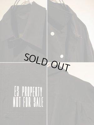 画像4: ESSAY(エッセイ) オーバーサイズミリタリーシャツ ブラック