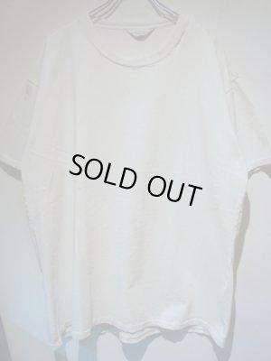 画像1: UNUSED(アンユーズド) ダメージTシャツ ホワイト