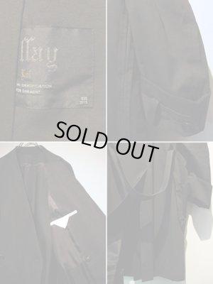 画像4: ESSAY(エッセイ) カラーレス ロングコート ブラック
