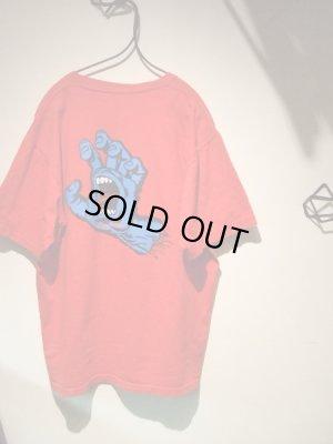 画像2: 90'S SANTA CRUZ(サンタクルーズ) スクリーミングハンド プリントTシャツ