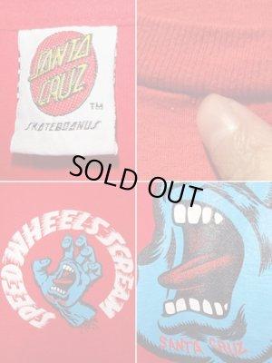 画像4: 90'S SANTA CRUZ(サンタクルーズ) スクリーミングハンド プリントTシャツ
