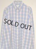 SATURDAYS SURF NYC(サタデーズ サーフ NYC) チェックシャツ ブルー×ホワイト×レッド