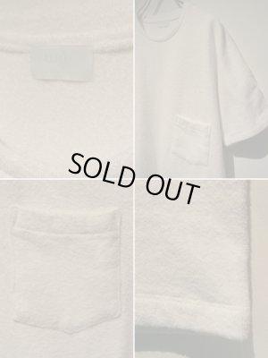 画像4: URU(ウル) ラッチパイルTシャツ ホワイト