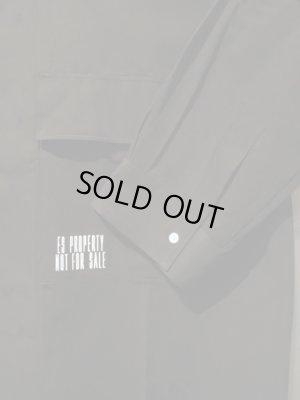 画像3: ESSAY(エッセイ) オーバーサイズミリタリーシャツ ブラック