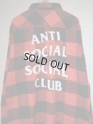 画像1: Anti Social Social Club(アンチソーシャルソーシャルクラブ・ASSC) ブロックチェック フランネルシャツ