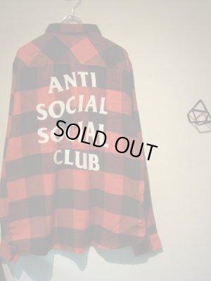 画像2: Anti Social Social Club(アンチソーシャルソーシャルクラブ・ASSC) ブロックチェック フランネルシャツ