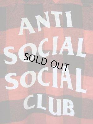画像3: Anti Social Social Club(アンチソーシャルソーシャルクラブ・ASSC) ブロックチェック フランネルシャツ