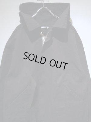 画像1: UNUSED(アンユーズド) フーデッドワークコート ブラック
