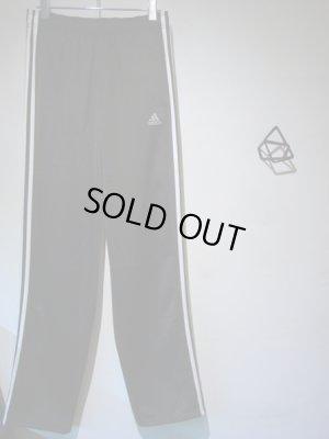 画像3: adidas(アディダス) スリーストライプ ジャージパンツ ブラック×ホワイト