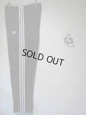 画像2: adidas(アディダス) スリーストライプ ジャージパンツ ブラック×ホワイト
