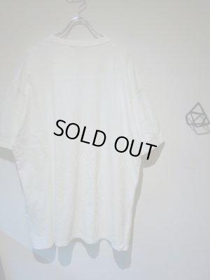 画像5: UNUSED(アンユーズド) ステンシル クルーネックTシャツ ホワイト