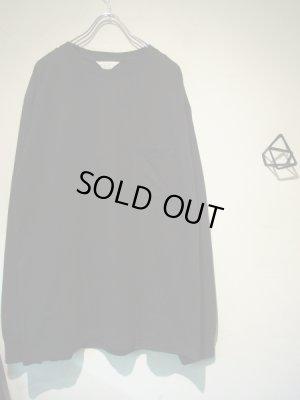 画像2: UNUSED(アンユーズド) オーバーサイズ 3DロングスリーブTシャツ ブラック
