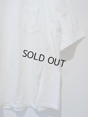 画像1: UNUSED(アンユーズド) ワンサイドスリットTシャツ ホワイト