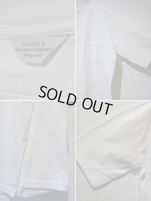 画像4: UNUSED(アンユーズド) ワンサイドスリットTシャツ ホワイト