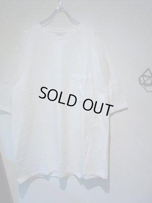 画像2: UNUSED(アンユーズド) ワンサイドスリットTシャツ ホワイト