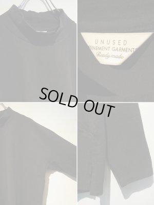 画像4: UNUSED(アンユーズド) オーバーサイズ ハイネックカットソー ブラック