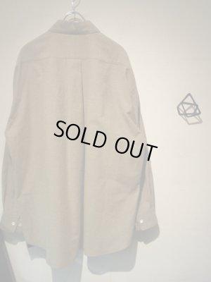 画像5: URU(ウル) フランネル オーバーサイズシャツ ベージュ
