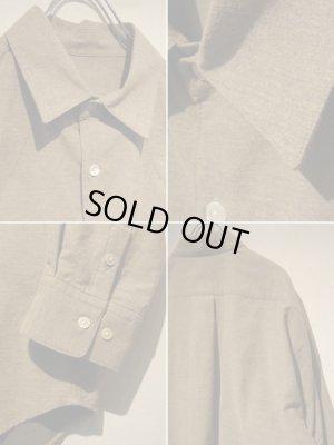 画像4: URU(ウル) フランネル オーバーサイズシャツ ベージュ