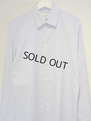 画像1: Maison Margiela(メゾン マルジェラ) 14ライン コットンシャツ ライトブルー