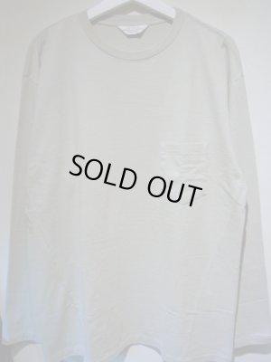 画像1: UNUSED(アンユーズド) ロングスリーブポケットTシャツ ストームグレー
